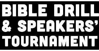 Bible Drill & Speakers' Tournament Logo