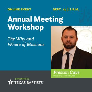 Sept. 15 - The Why and Where of Missions