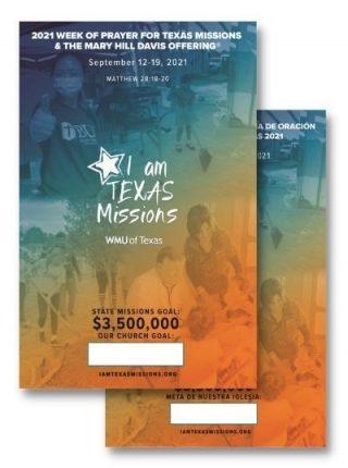 Mary Hill Davis Offering Week of Prayer Poster