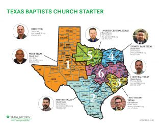 TXB Church Starter Map